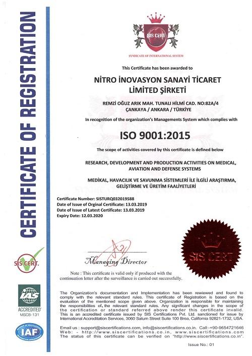 NITRO iso9001